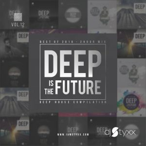 Deep is the Future - Vol 12 - CD Cover